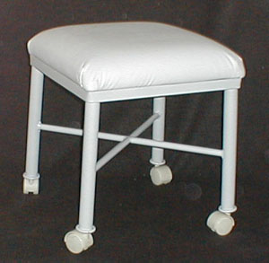 105 Vanity Stool with Casters