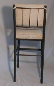 Model 1101 Stationary Bar Stool Back View
