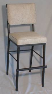 Model 1101 Stationary Bar Stool Front View