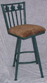500 Grape Leaf Swivel Stool