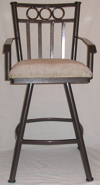 505 Swivel Stool With Flat Arms