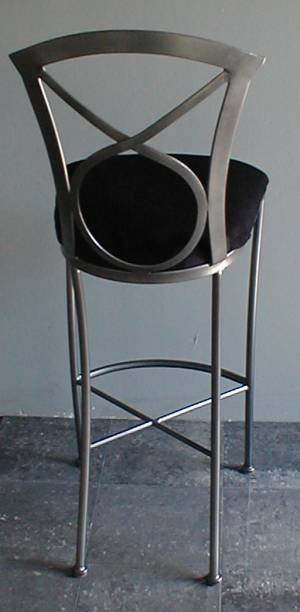 Model 606 Bar Stool Rear View