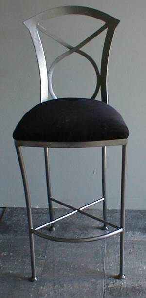 606 Bar Stool Front View
