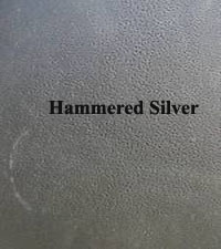 Hammered Silver