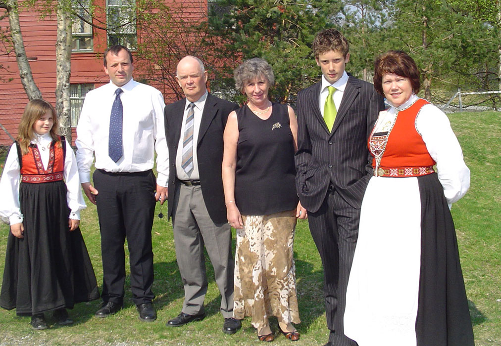 Pal and family