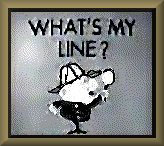 What's My Line Logo